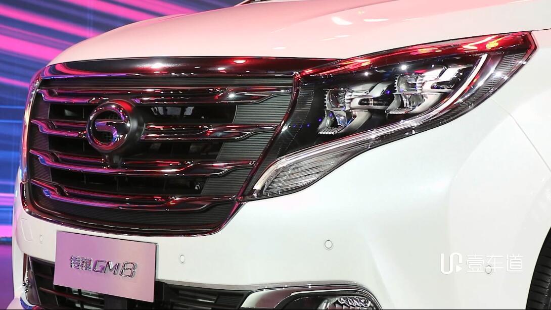 广汽传祺GM8上市 售17.68-25.98万元