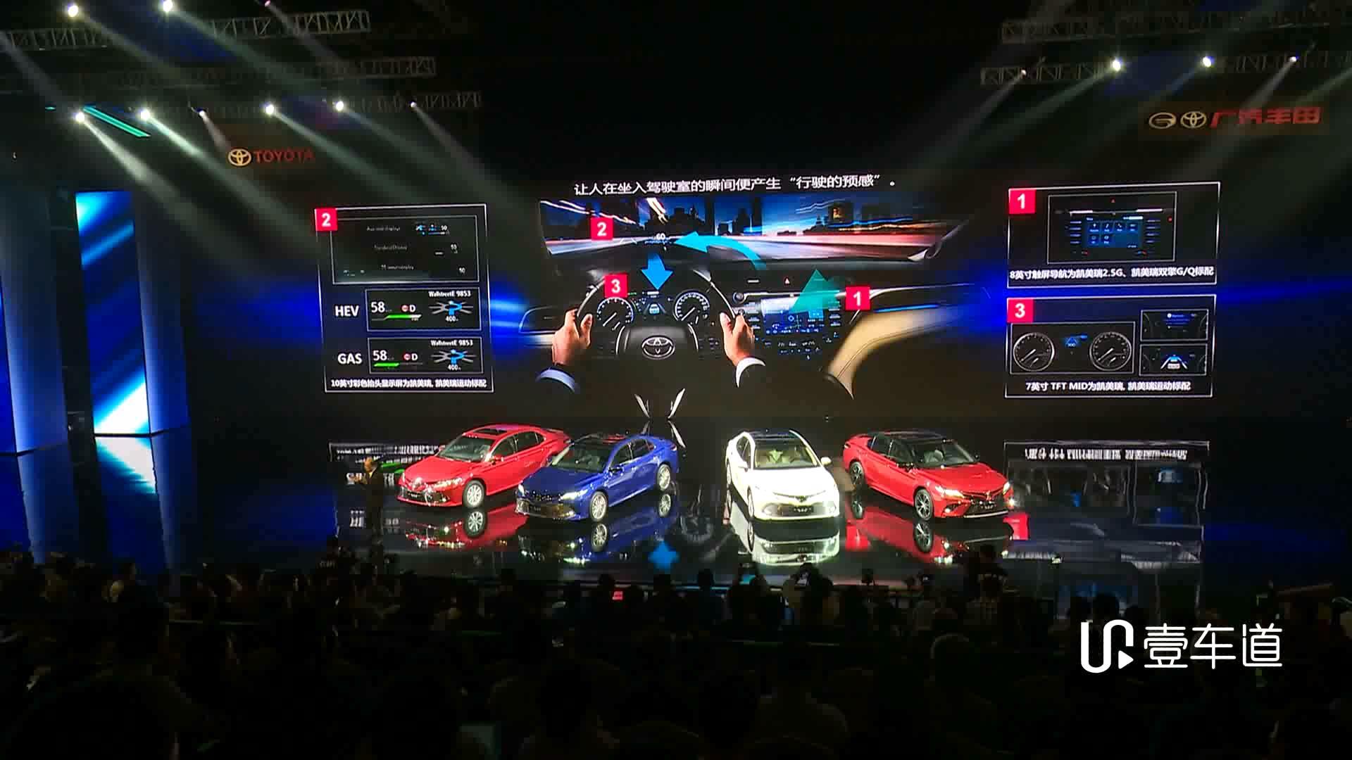 全面革新的真正换代  丰田第八代凯美瑞重塑中高级车价值标杆